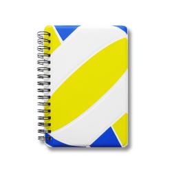 バレーノート 青黄
