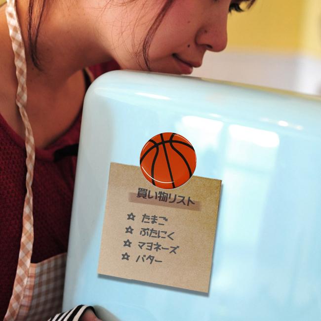 マグネット バスケットボール柄 商品名