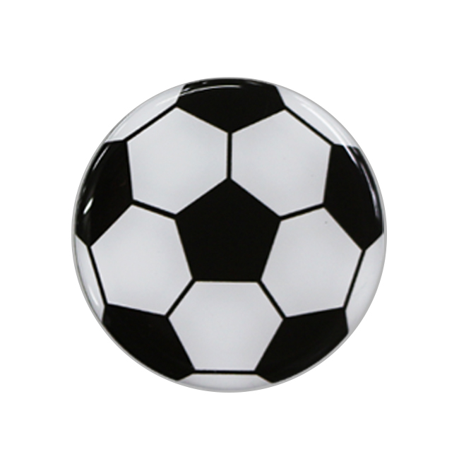 マグネット サッカーボール柄