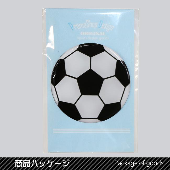 マグネット サッカーボール柄 商品パッケージ
