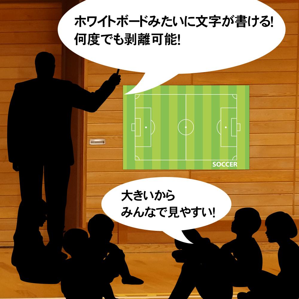 作戦ボードウォールステッカー サッカー