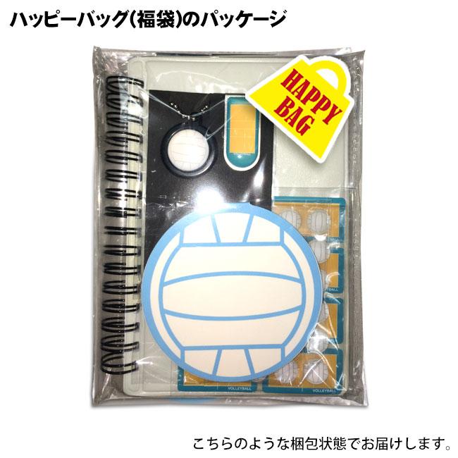 ハッピーバッグ パッケージ バレーボール 白