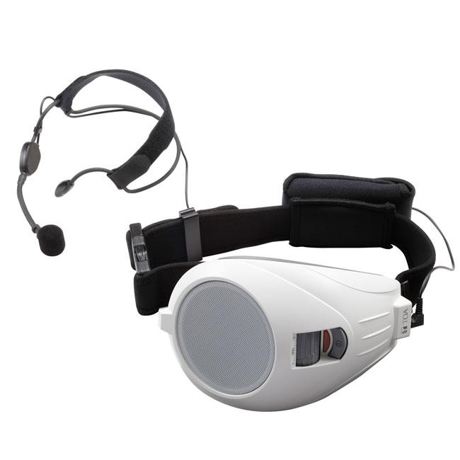 TOA ハンズフリー拡声器 ER-1000A-WHの画像